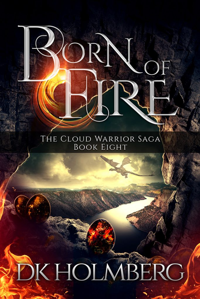 Born of Fire by DK Holmberg