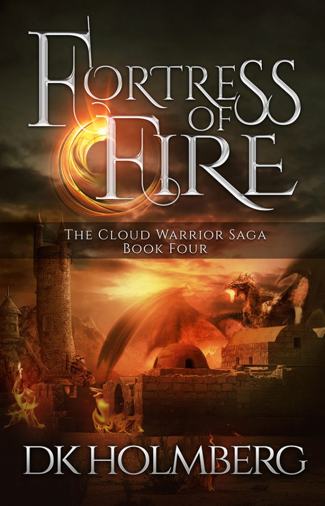 Fortress of Fire by DK Holmberg