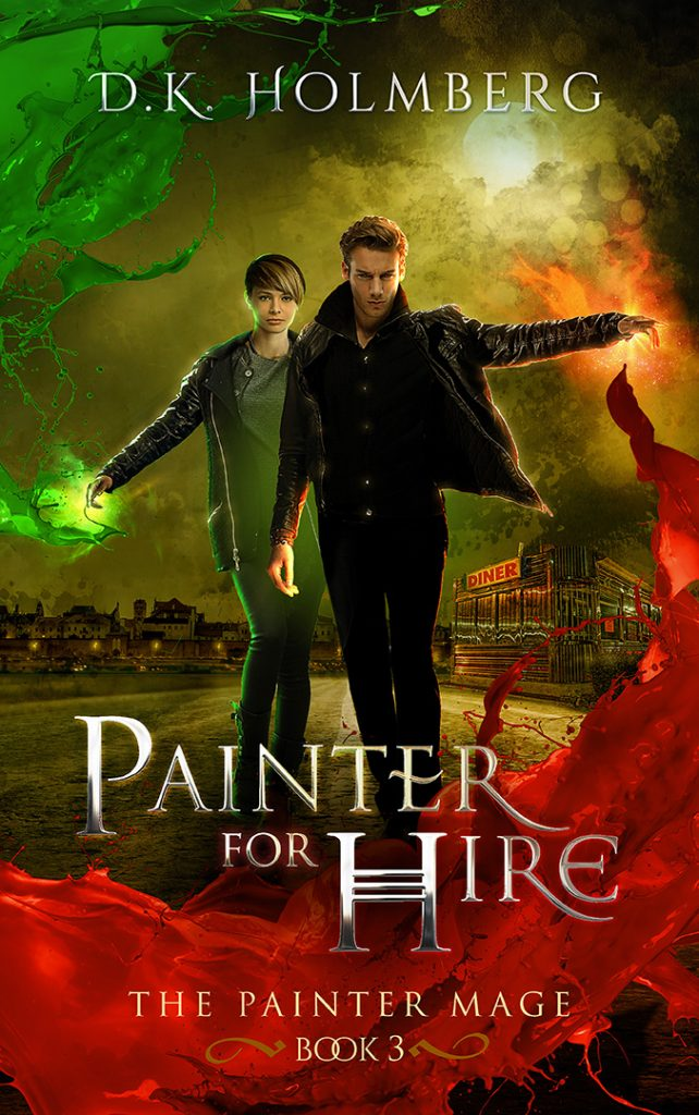 Painter for Hire by DK Holmberg