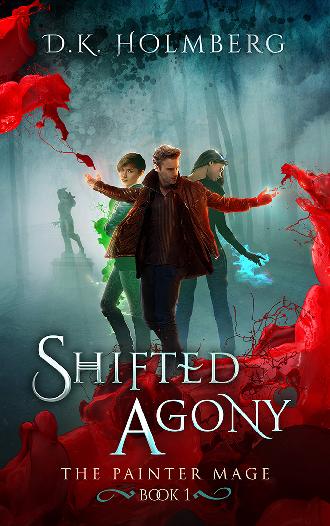 Shifted Agony by DK Holmberg
