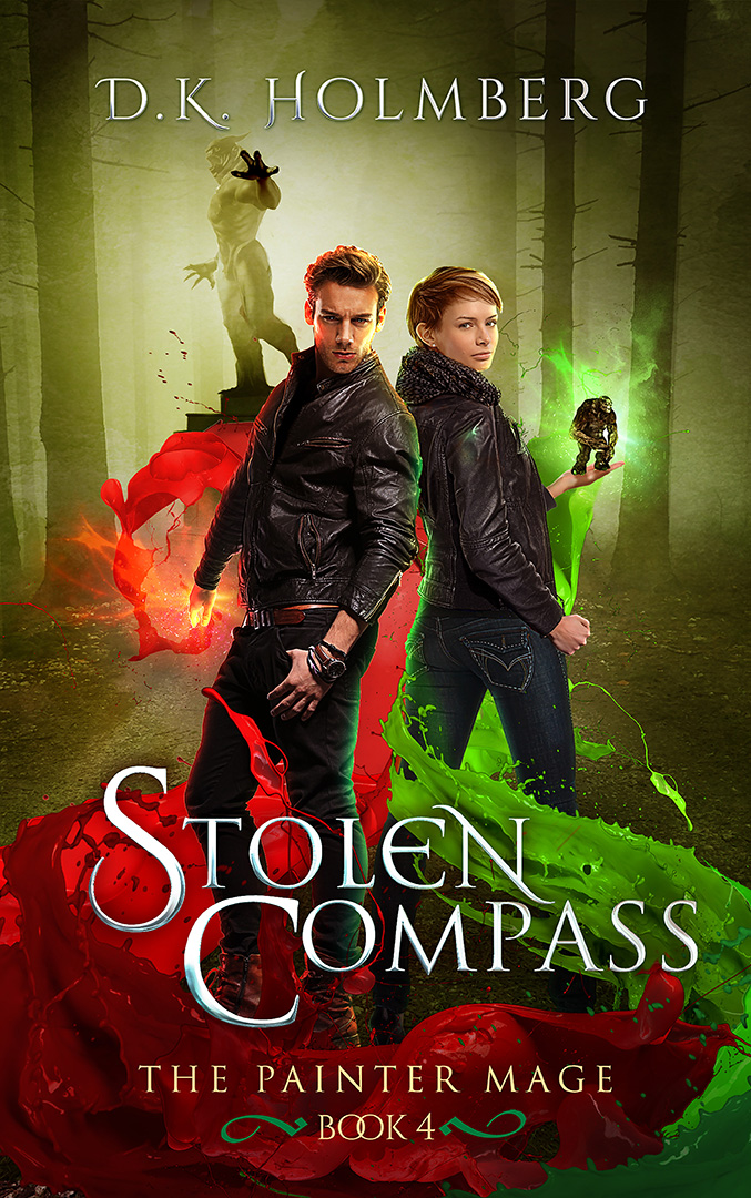 Stolen Compass by DK Holmberg