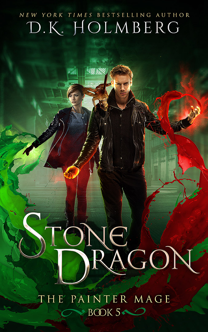 Stone Dragon by DK Holmberg