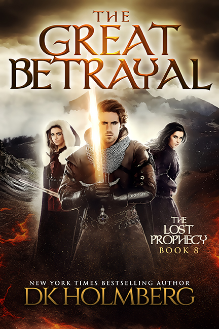 The Great Betrayal by DK Holmberg