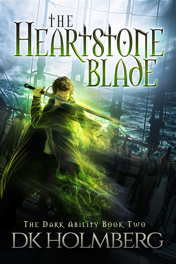 The Heartstone Blade by DK Holmberg