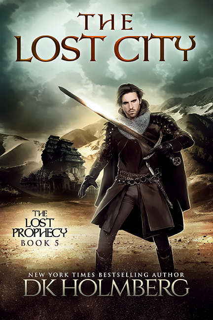 The Lost City by DK Holmberg