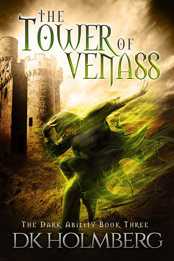 The Tower of Venass by DK Holmberg