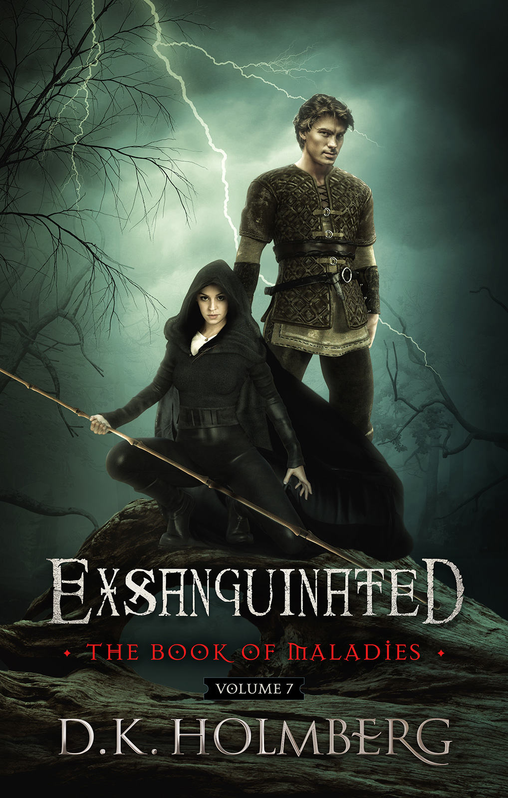 Exsanguinated by DK Holmberg